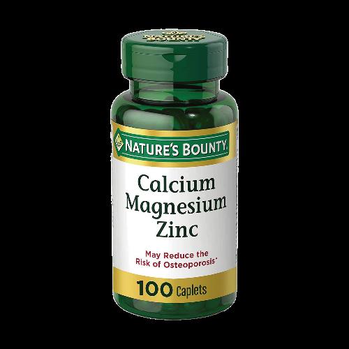 Calcium Magnesium Zinc 100caps nature's bounty