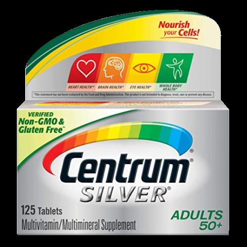 Centrum Silver Multivitamin 50+ 125 tabletas