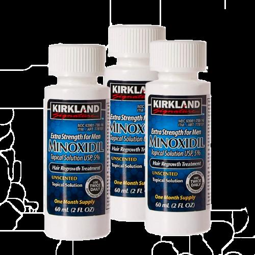 Minoxidil Líquido 5% 3 meses