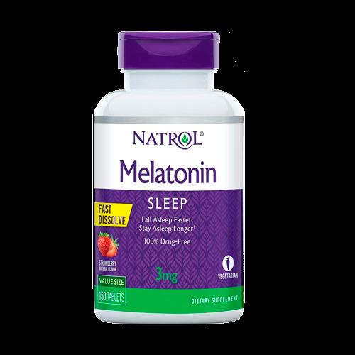 Melatonina Natrol 3mg 150 unidades