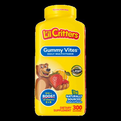 Lil Critters Gummy Vites 300 gummies