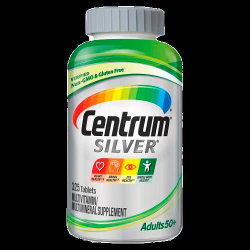 Centrum Silver Adultos 50+ 325 Tabletas