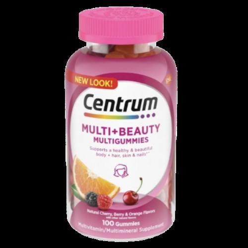 Centrum Multi+Beauty Multigummies -100 gummies