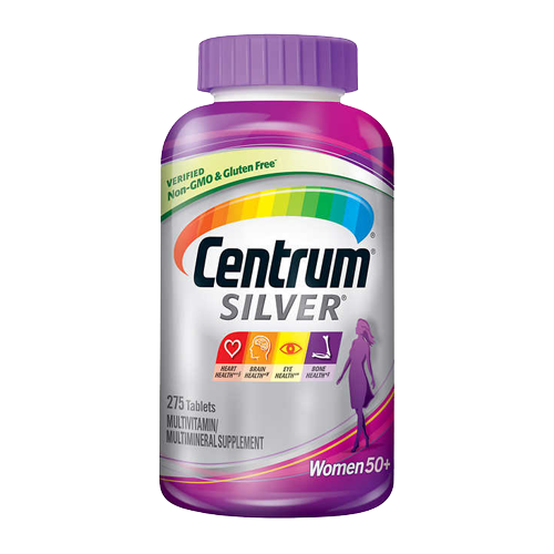Centrum Silver Mujer 50+ - 275 caps