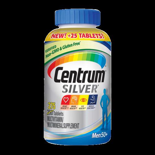 Centrum Silver Men 50+ - 275 caps