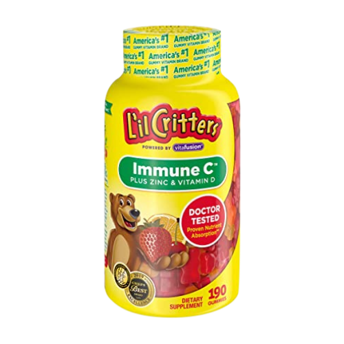 L'il Critters - Immune C plus Zinc & vitamin D
