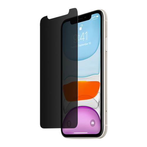 InvisiGlass Ultra Privacy Screen Protection for iPhone 11 / XR