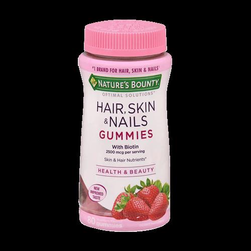 Hair, Skin & Nails - 80 Gummies