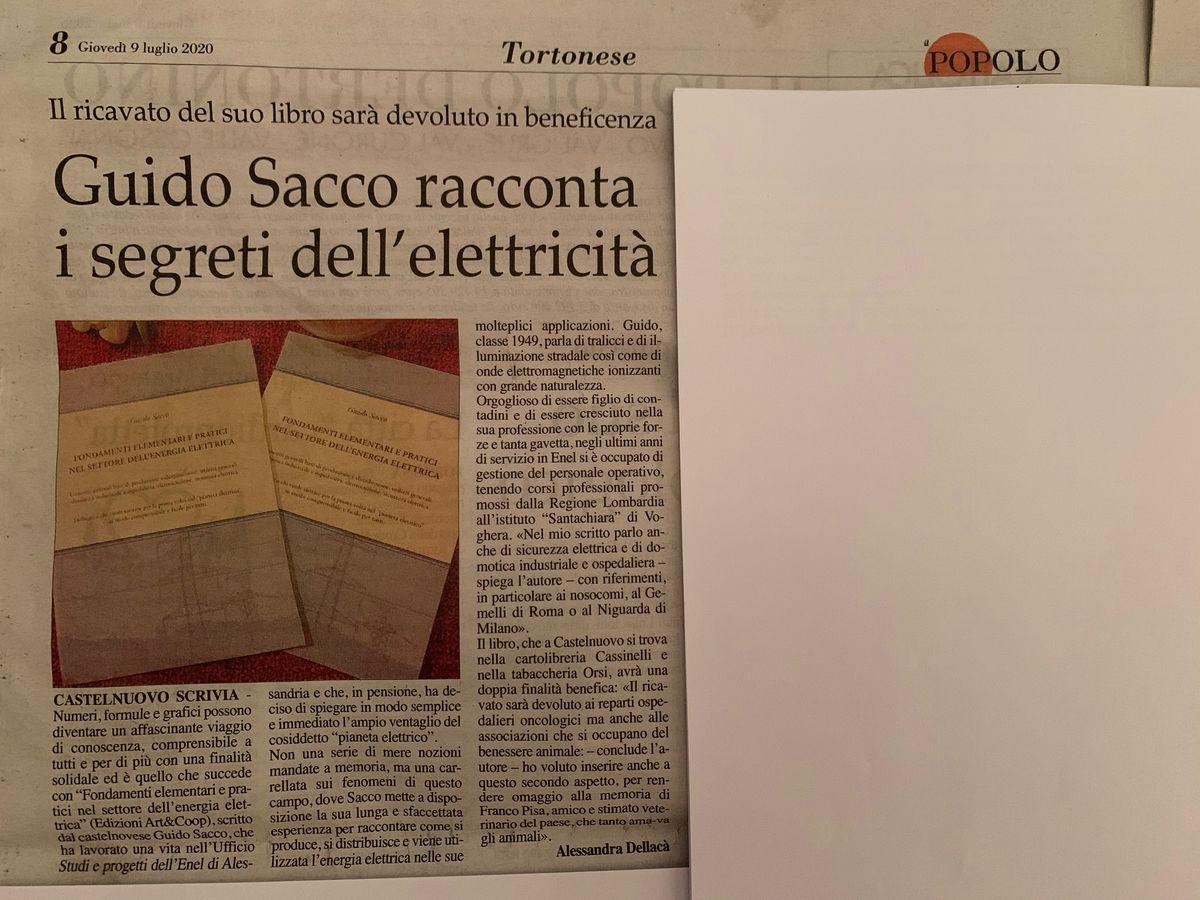 Guido Sacco racconta i segreti dell'elettricità