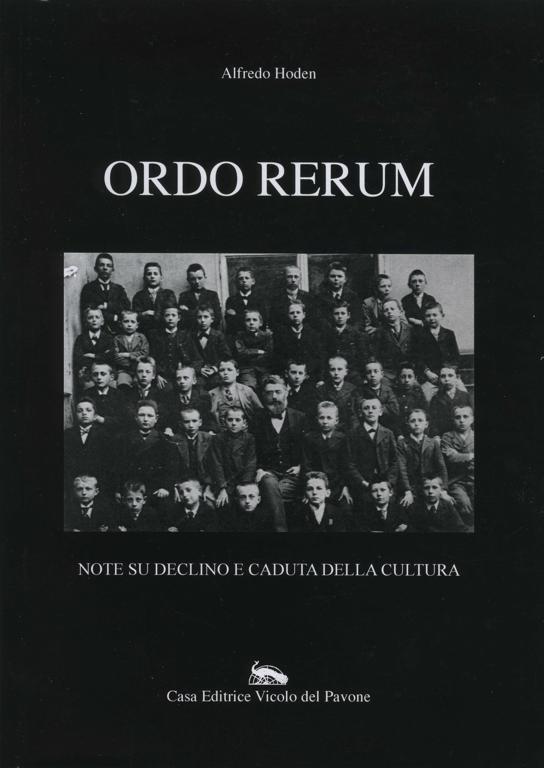 Ordo rerum