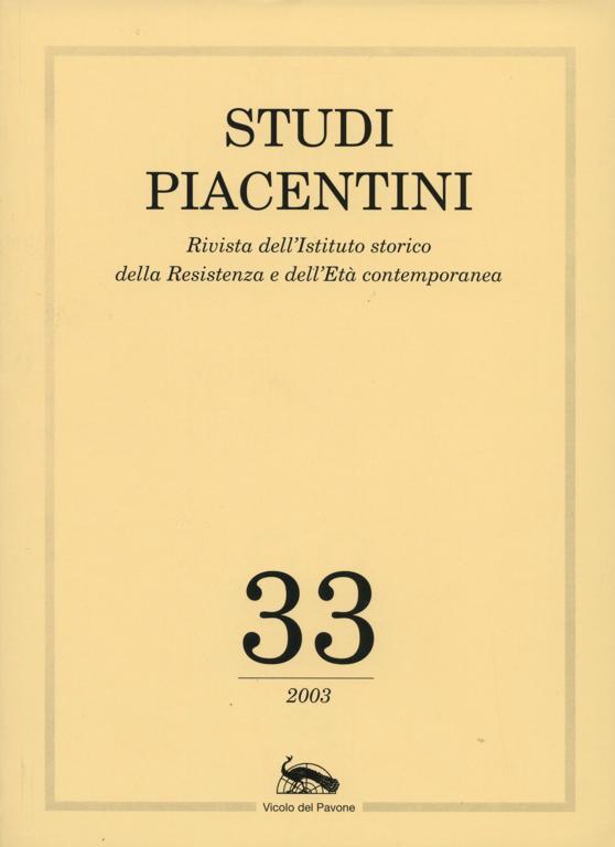 Studi Piacentini/33