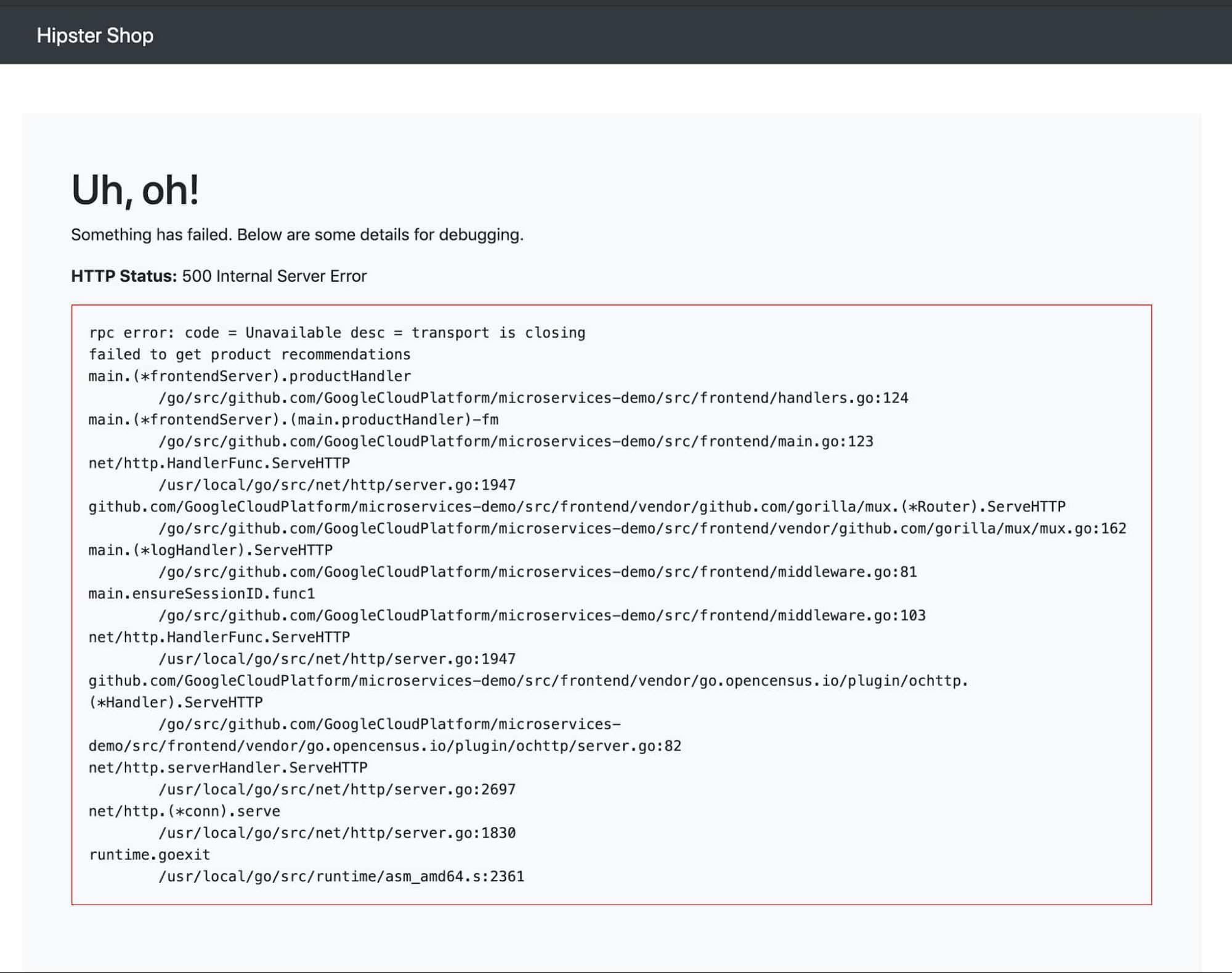 2 HTTP 500 errors.jpg