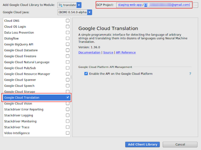 Access Google Cloud services, right from IntelliJ IDEA | Google
