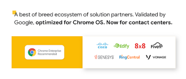 A best of breed ecosystem of solution partners