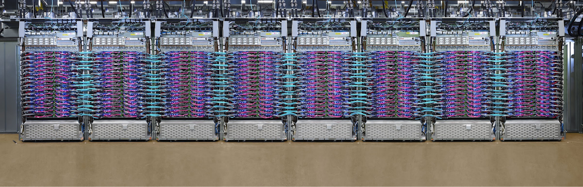Google's scalable supercomputers for machine learning, Cloud