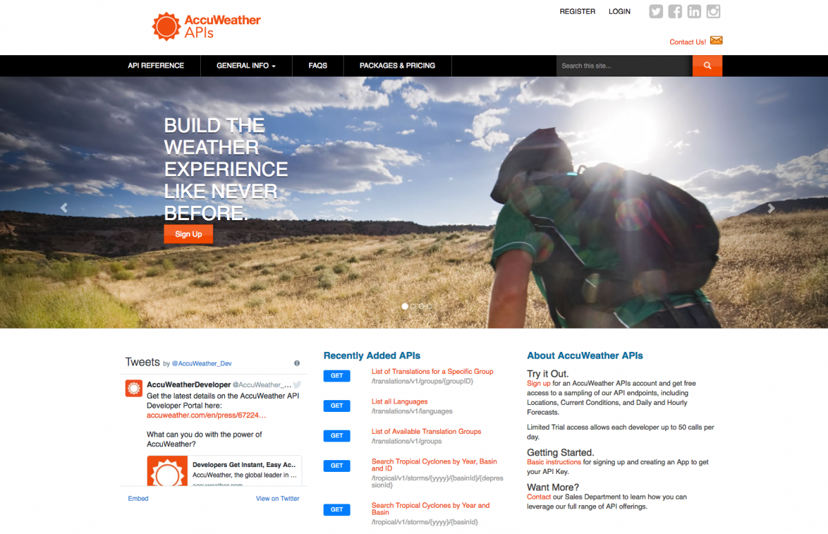 Apigee & AccuWeather: Bringing Developers Access to Industry-leading