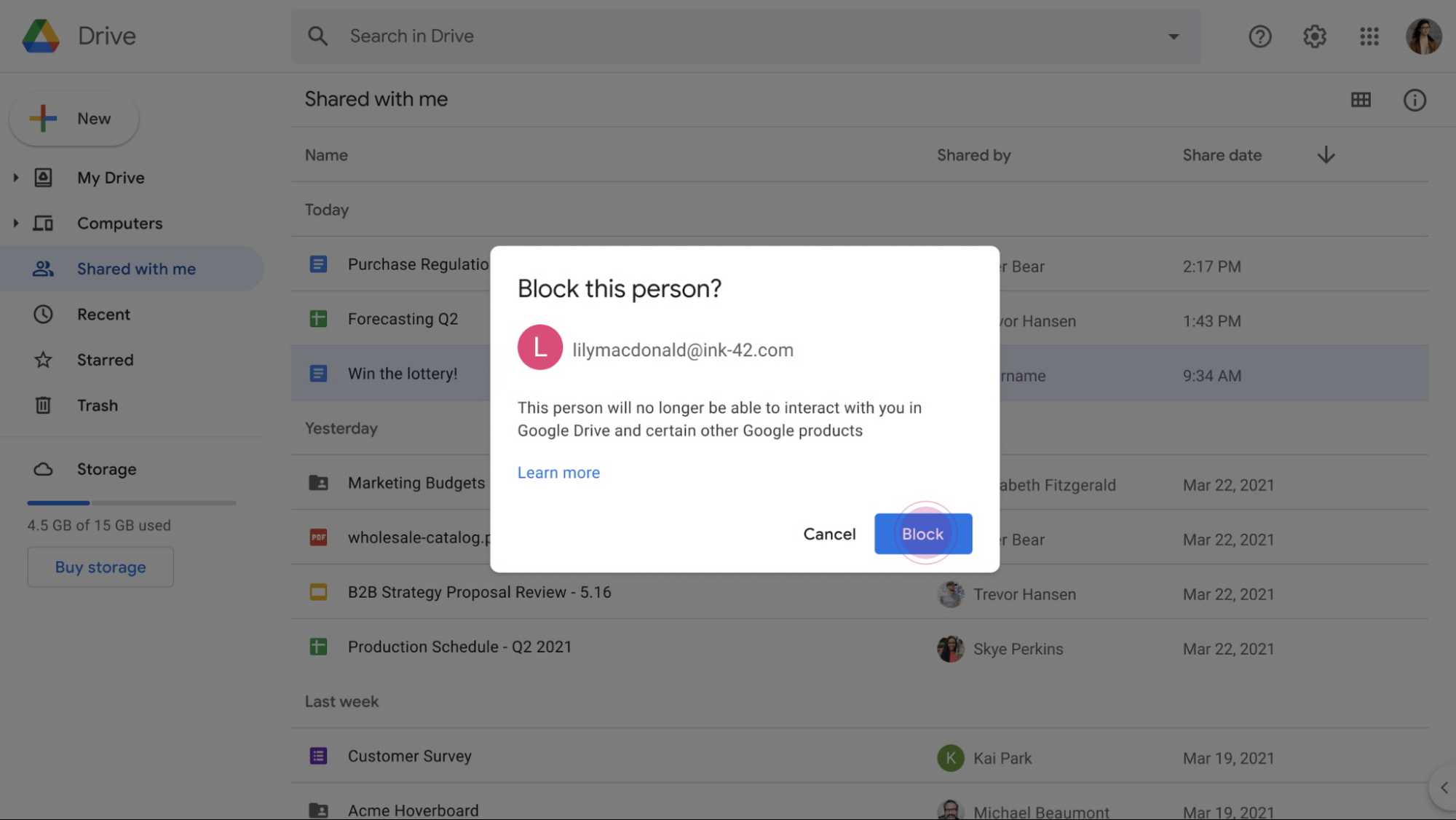 Blocking an individual from future sharing in Google Drive.jpg