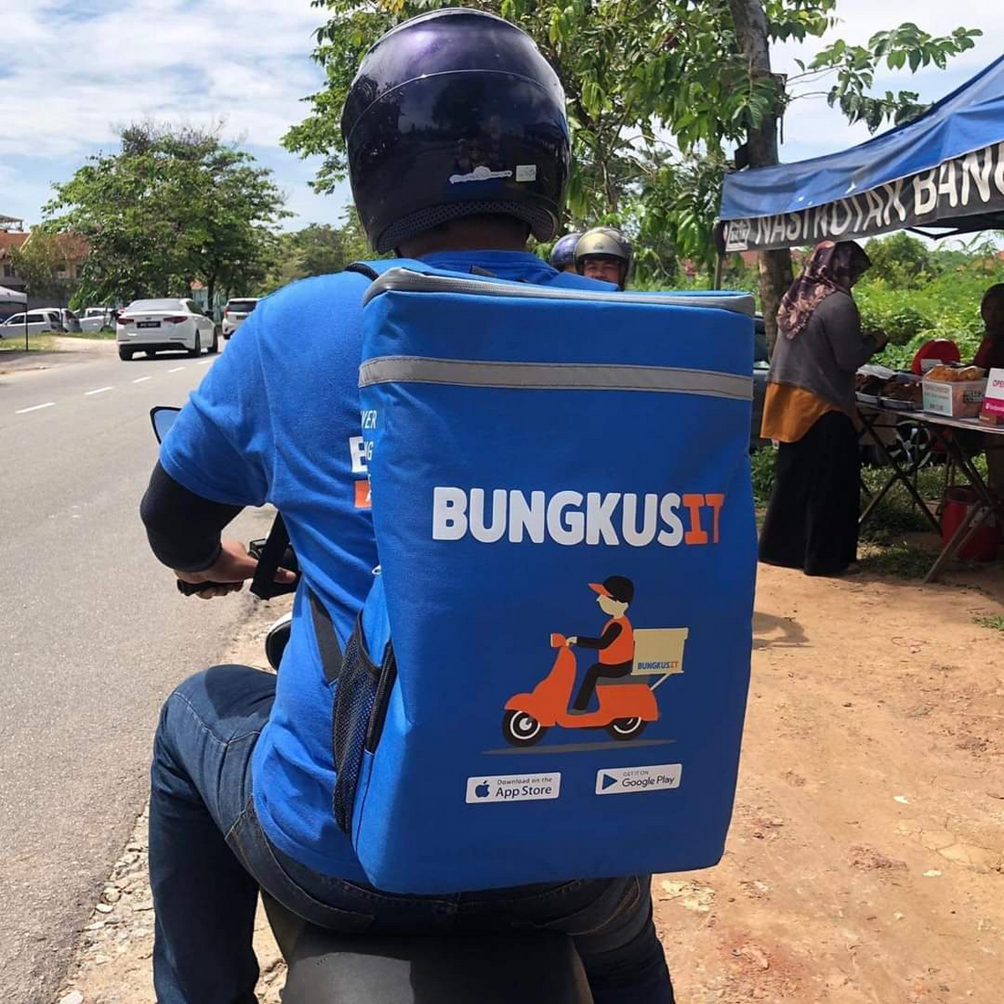 BungkusIT rider