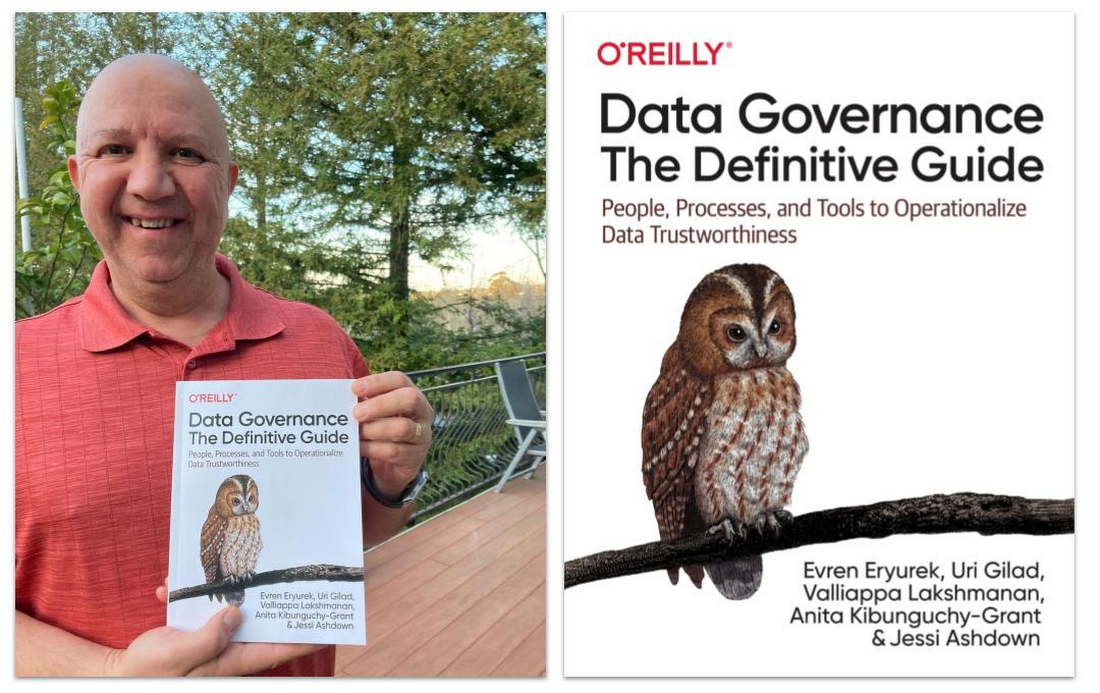 Data Governance - The Definitive Guide Book with Evren Eryurek