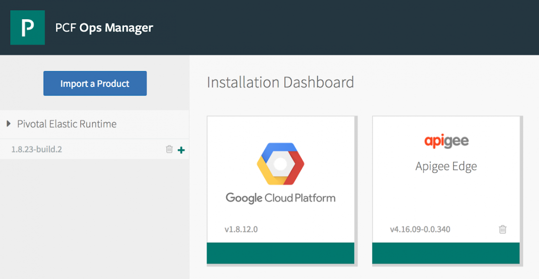 Apigee Edge Installer for Pivotal Cloud Foundry is Here! | Google