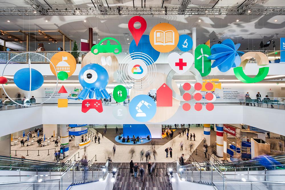 The entrance at Google Cloud Next '19