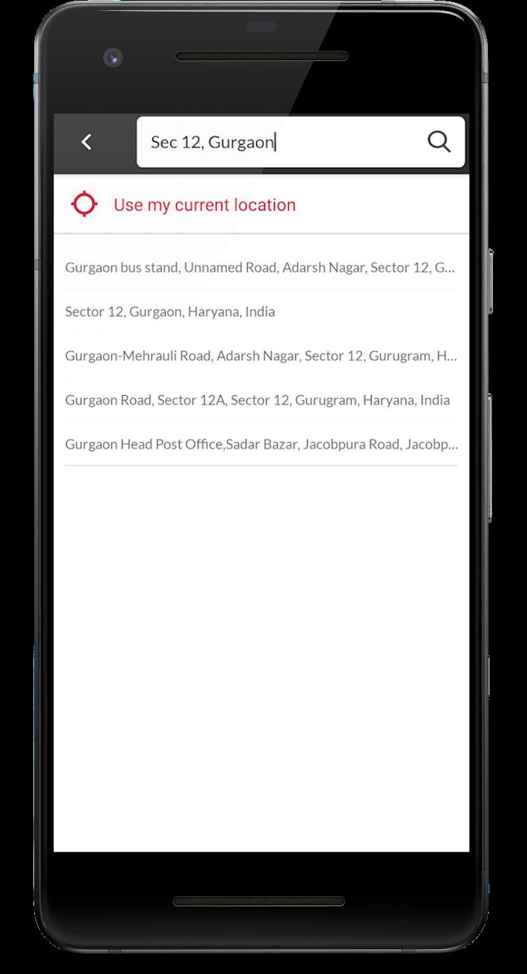 Licious mobile screenshot
