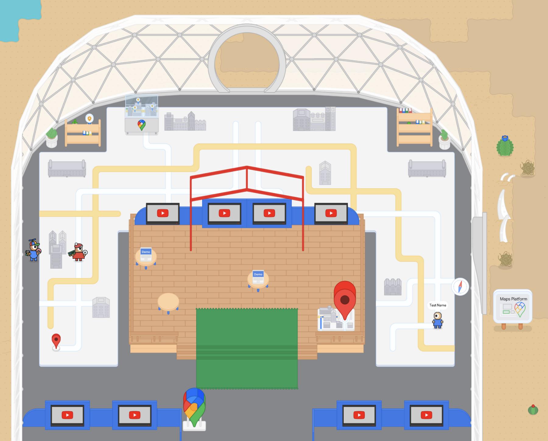 Google Maps Platform dome