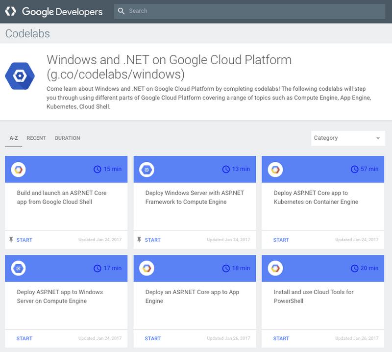NET-codelabs