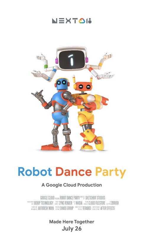 Robot Dance Party