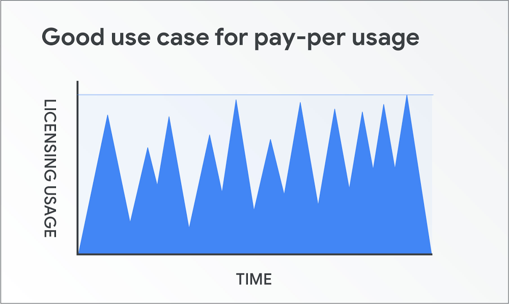 Spiky workloads gain flexibility from pay-as-you-go licenses.jpg
