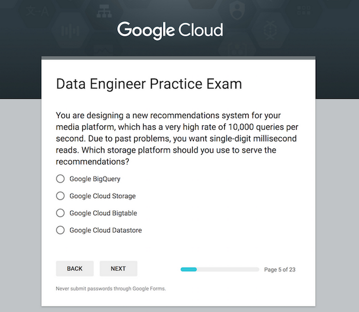 Practice Makes Perfect The Professional Data Engineer Practice Exam
