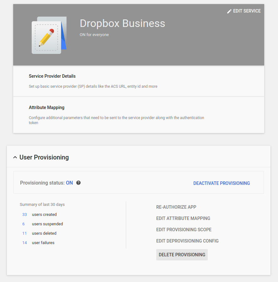 Now you can provision Dropbox users with G Suite and Cloud