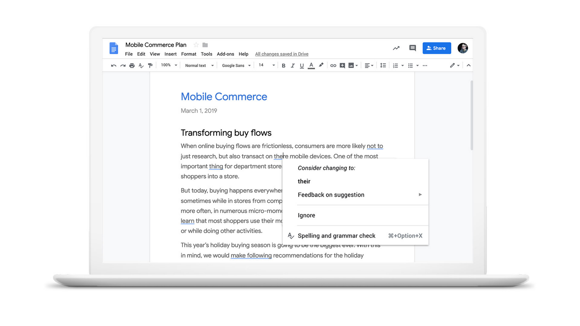 Everyday AI: beyond spell check, how Google Docs is smart