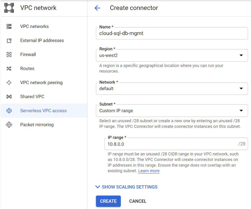create-vpc-network-connector