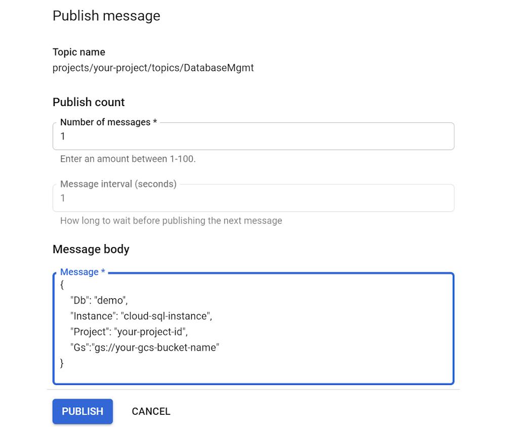 publish-pubsub-message