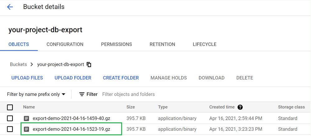 export-file2-listed-in-bucket