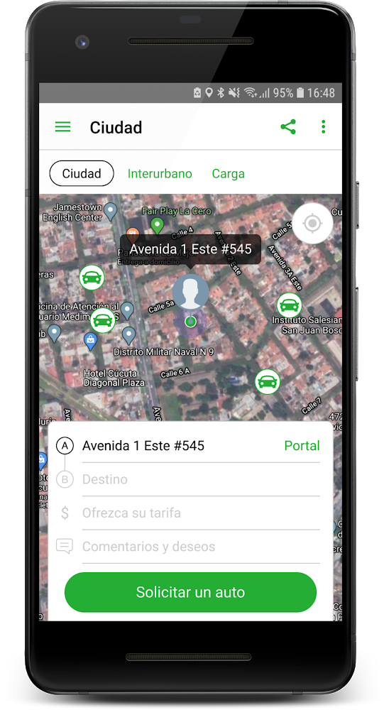 inDriver app