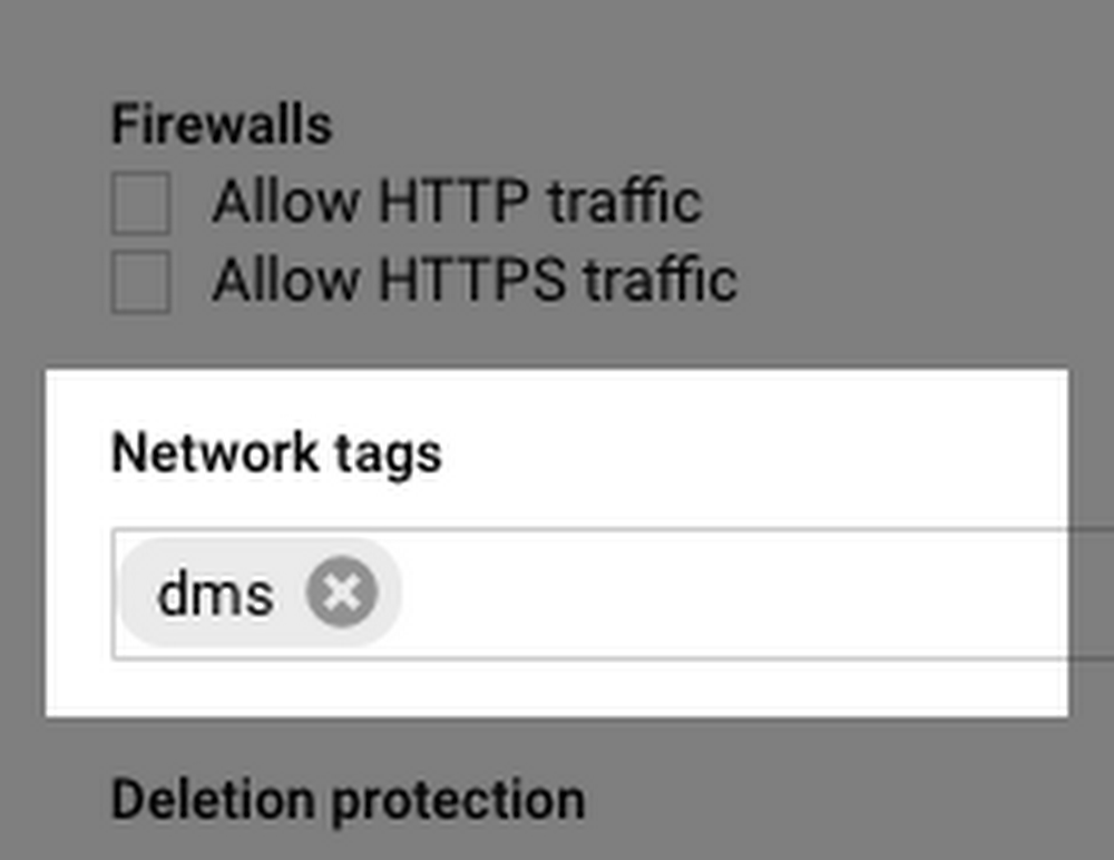 Network Tags