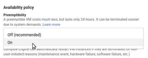 Introducing Preemptible GPUs: 50% Off | Google Cloud Blog