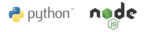 python node.js