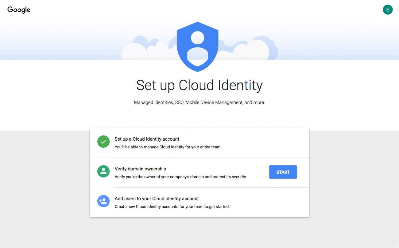 Using your existing identity management system with Google Cloud