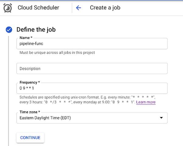 Cloud Scheduler