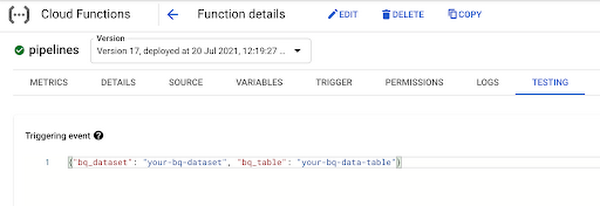Function Expects