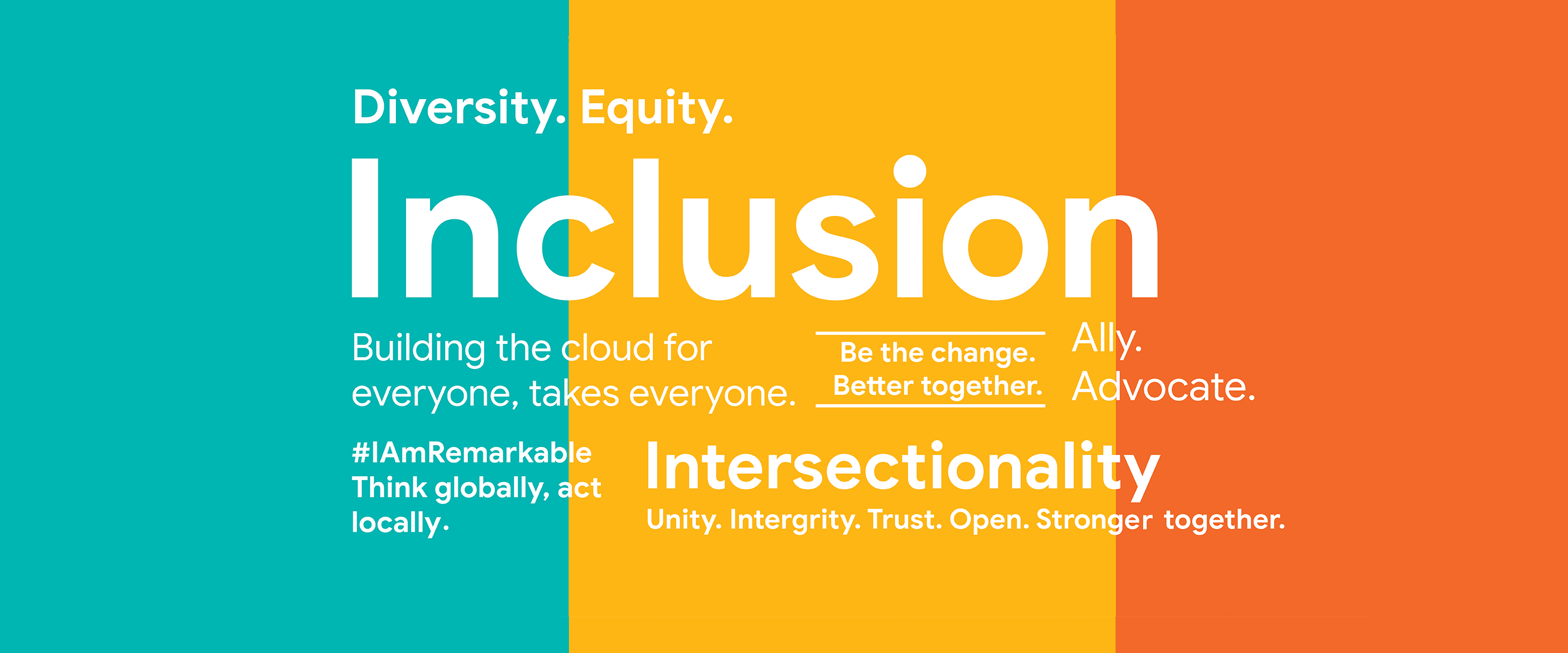 A cloud for everyone: fostering diversity, equality and ...