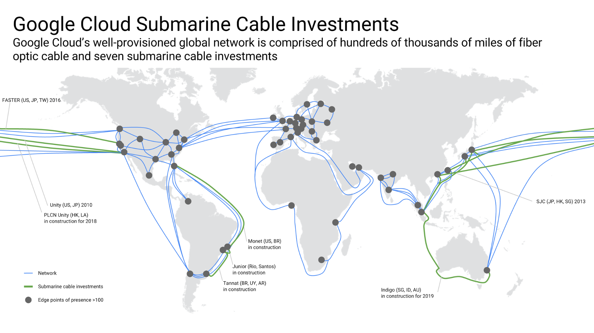 Google invests in INDIGO undersea cable to improve cloud ...