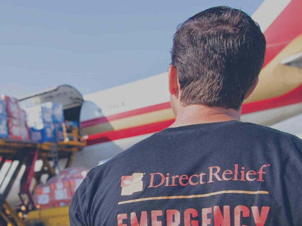 Direct Relief emergency worker.