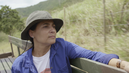 Wanda Santiago of Eco-Farm CMTAS.