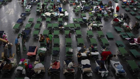 Disaster shelter.