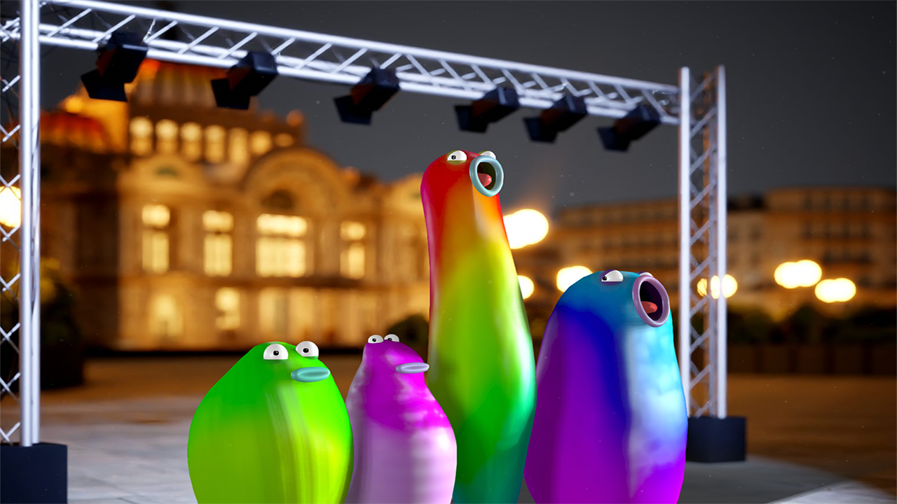 Blob Opera in Mexico City