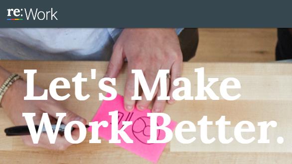 reWork: Google's best HR practices